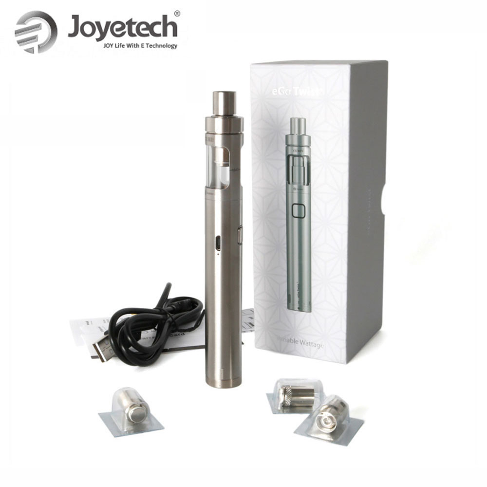 Original Joyetech eGo Twist+ with CUBIS D19 all-in-one 2ml tank capacity 1500mAh builtin battery vape kit electronic cigarette original joyetech egrip vt kit gift 1pcs silicone case 1500mah built in battery with 3 6ml ego one cl head electronic cigarette