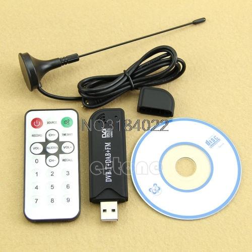 R820T+DAB+FM HDTV Tuner Receiver-Stick HE RTL2832U+USB20 Digital DVB-T-!
