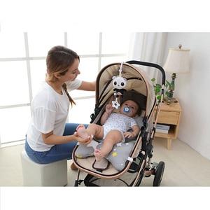 Image 5 - Zabawki dla dziecka miękkie zwierzę pluszowe grzechotki dla dzieci/mobilne zabawki wiszące wózek dzwon zabawki dla dzieci grzechotka do kołyski Bebe zabawki 0 12 miesięcy