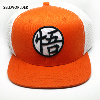 2019 Dragonball Cartoon Character Mesh Ventilated Casual Hip-hop hat Baseball Caps image