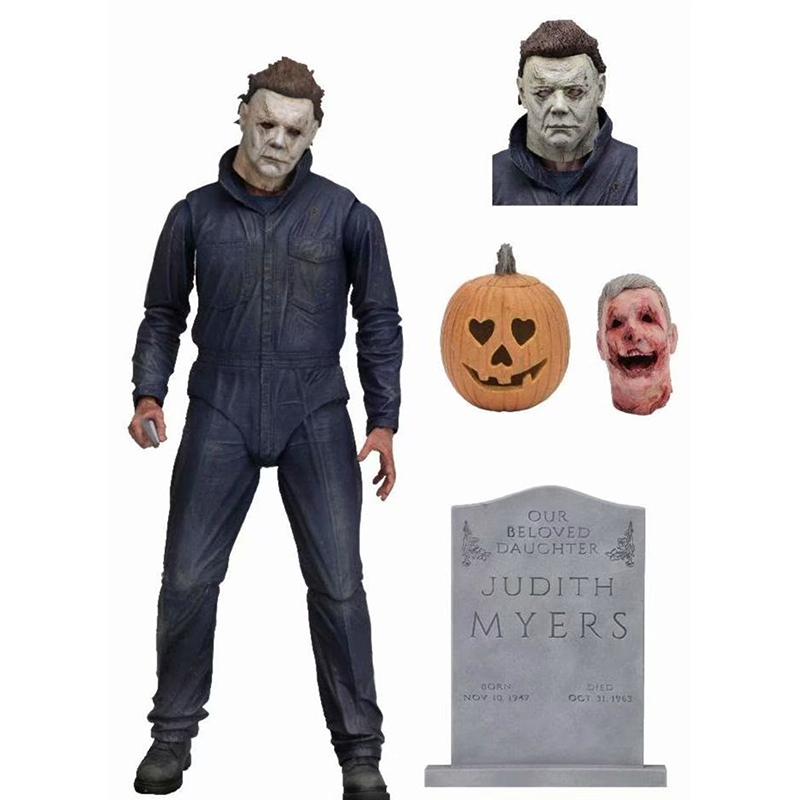 2019 New 18cm Halloween Ultimate Michael Myers Action Figures Joints Moveable Model Toys toys for children2019 New 18cm Halloween Ultimate Michael Myers Action Figures Joints Moveable Model Toys toys for children
