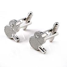 Ping Pong Bat shape Cufflinks for Mens Suit Shirt Accessories Silver Cufflink Tennis Ball Sport Racket Design For Wedding