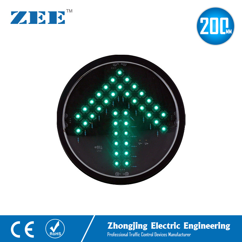 200mm Green Arrow LED Traffic Signal Modules LED Replacement Signals LED Traffic Light Lamps