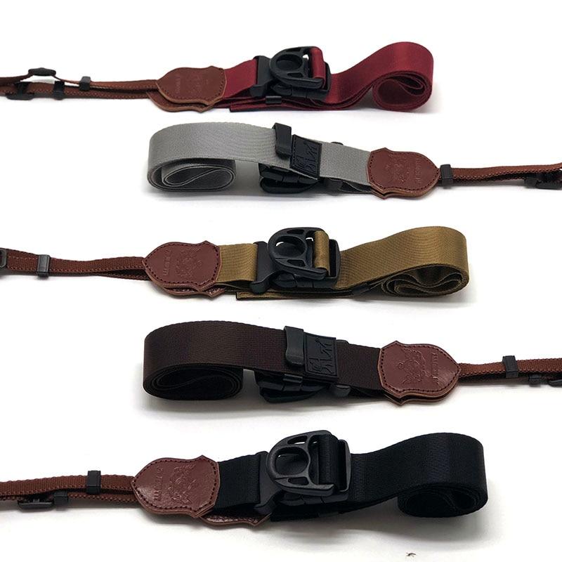 Wide Quick-Release Neck Shoulder Strap DSLR Camera Belt For Canon Nikon Sony Pentax