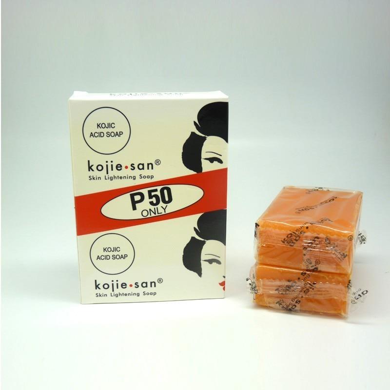 2x 65g Kojie San Skin Whitening Lightening Bleaching Kojic Acid Glycerin Soaps Free Shipping(China)