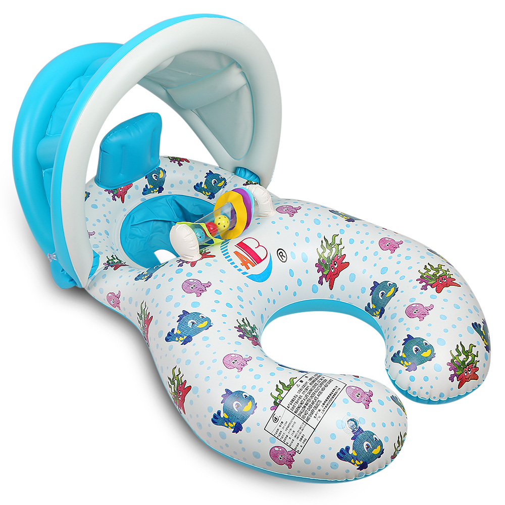 New Baby Seat Floating Inflatable Baby Swim Ring Kids -6835