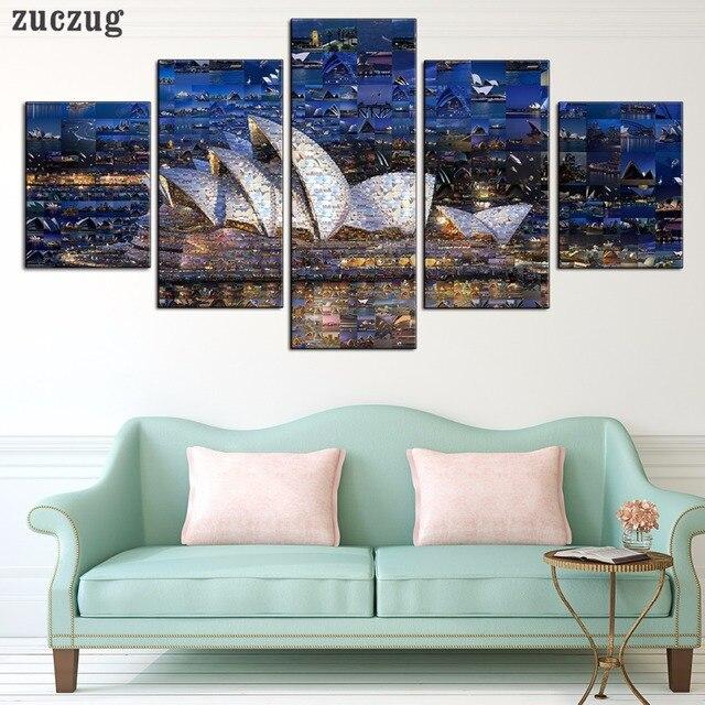 Sin marco de la Ópera de Sydney Representa Una Pequeña Imagen 5 ...