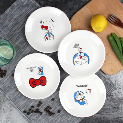 Promotion Cartoon Animal Dinner Plates Porcelain Saucers & Ceramic Childrens Plates - Best Plate 2018