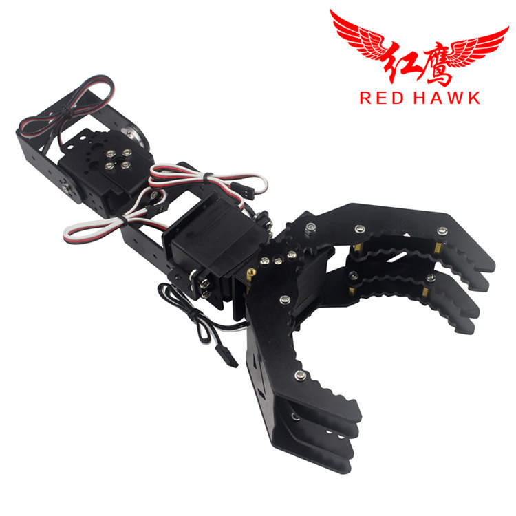 3 DOF Metal Robotic Claw/Gripper/Robot Mechanical Claw/Compatible with LD-1501MG digital servo LDX-335 single-axis digital servo mager genuine new original ssr single phase solid state relay 20a 24vdc dc controlled ac 220vac mgr 1 d4820