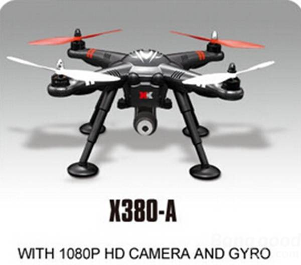 XK DETECT X380A 4CH GPS 2 4GHz RC Quadcopter with 1080P HD Camera GYRO Circle Hovering