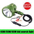 45 W 55 W 65 W 12 V Xenon Hid Pesquisa Luz Handeld Spotlight Searchlight Barco Local de Acampamento Lâmpada de Caça luz de Condução Luz de Trabalho