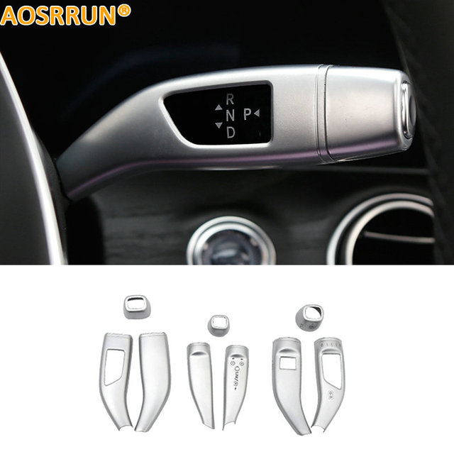 Mercedes Benz Accessories >> Us 55 25 15 Off Aosrrun Abs Electronic Gear Turn Signal Control Cover Car Accessories For Mercedes Benz E Class W213 E200 E300 E320 2016 2017 In