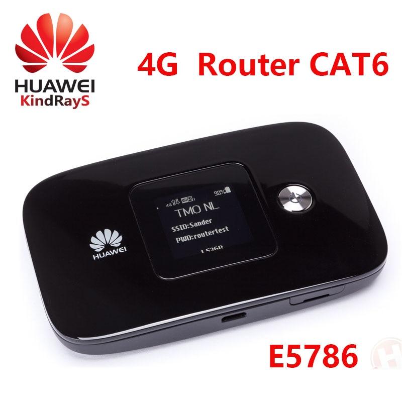 LTE routeur cat6 300 Mbps débloqué Huawei E5786 e5786s-62a 4g lte MiF routeur 4g wifi dongle pk e5776 e5577 e5786s e5770