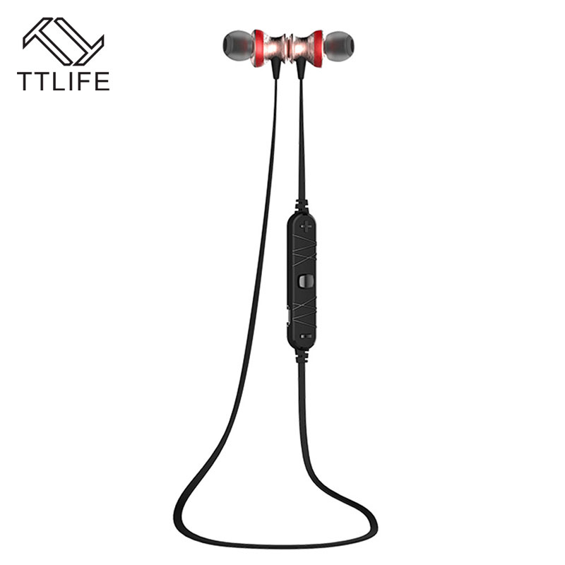 Original TTLIFE Bluetooth Earphones Wireless Stereo Headphones With Microphone For iPhone Xiaomi fone de ouvido Auriculares ttlife portable mini bluetooth 4 1 earphones car phone charger dock wireless headphones airpods for iphone xiaomi fone de ouvido