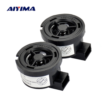 AIYIMA 2PCS 1 inch 4 ohm 15W Car tweeter Treble Audio Speaker Loudspeaker with Capacitance for Ford Mazda Nissan image