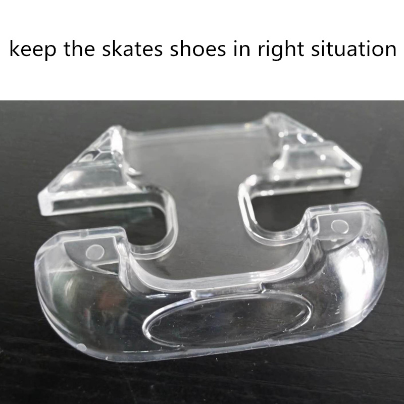 Kids And Adults Inline Skates Stand FSK Slalom Skate Speed Skates Shoes Holder Transparent PVC Support For SEBA High HV HL KSJ