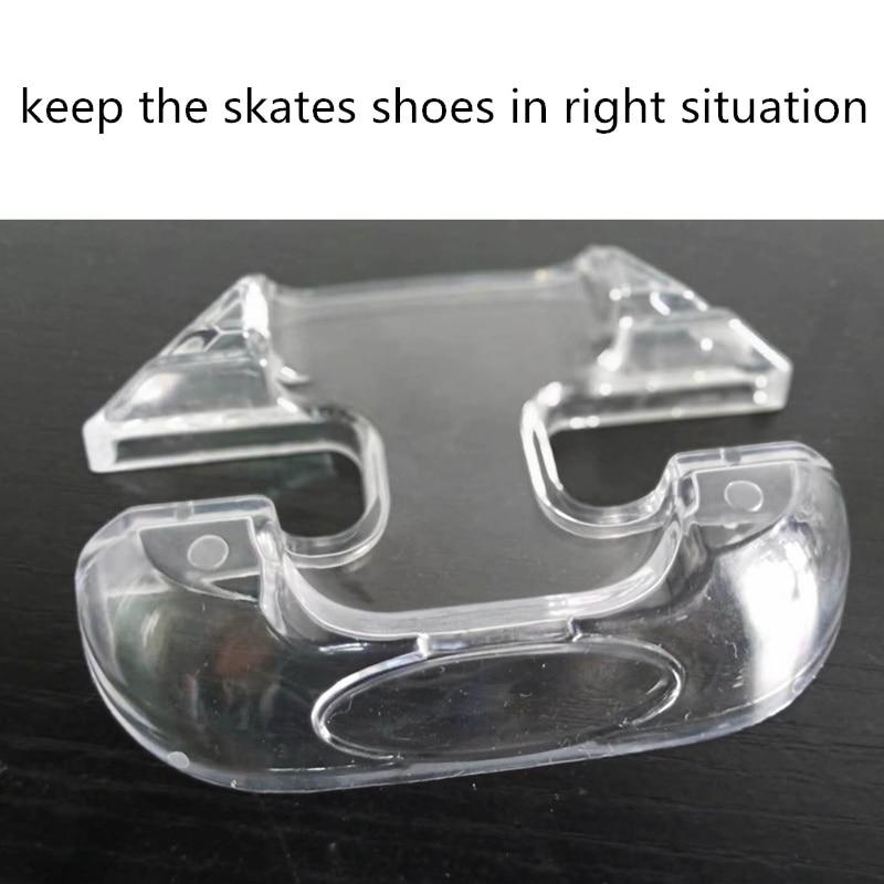 Kids And Adults Inline Skates Stand FSK Slalom Skate Speed Skates Shoes Holder Transparent PVC Support For SEBA High HV HL KSJ