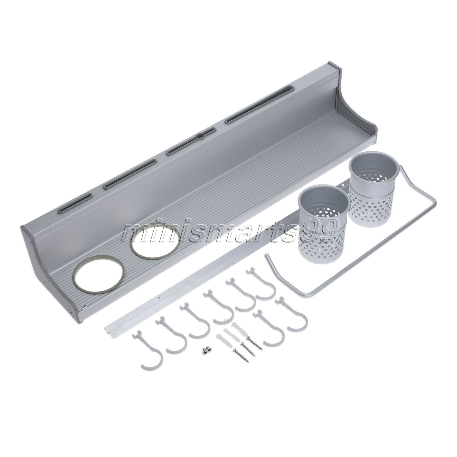 online wholesale wall mounted kitchen utensil rack from china