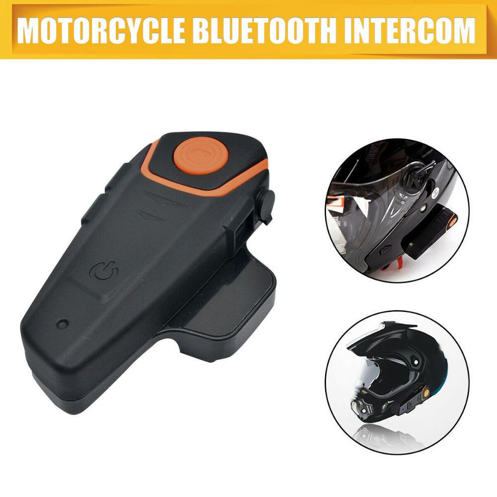 Nouveau casque de moto 1000 m interphone stéréo Communication casque BT casque Bluetooth