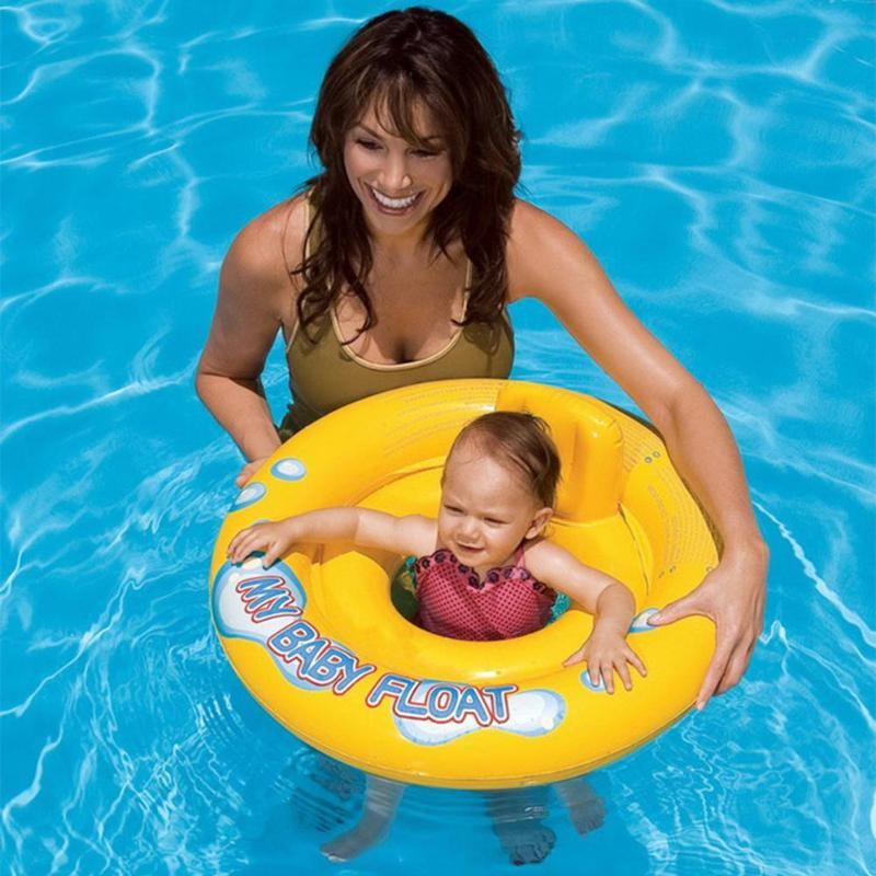 Baby Infant Kids Inflatable Swimming Ring Toddler Seat Pool Float Bath Water Fun Bathing Swim Trainer Toy Swim Pool Accessories