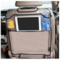 new Thicken Environmental PVC Cover Car Back Seat Protector Kicking Mat For Kids Child Seats /With Organizer For Ipad and Drink