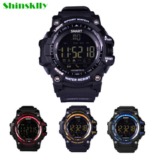 EX16 Sports Smart Watch Wristwatch IP67 Waterproof Pedometer Distance Counter OUTDOOR Wearable Device for iOS iPhone Android