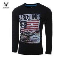 Men's Fashion T Shirt Turtleneck Funny Summer Dress American Style US Flag 3D Printed T-shirt For Men Sportswear Teeshirts Male