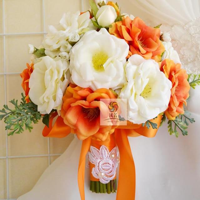 Haut De Gamme Fabriques A La Main Fleur De Mariage Floral Mariee