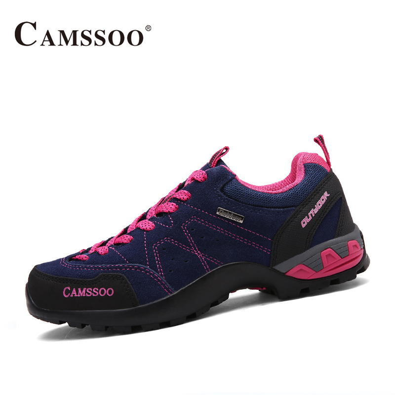 Camssoo Shoes Hiking Women Breathable Mesh Outdoor Athletic Shoes Women Breathable Trainers Size Eu 36-40 AA40339 2017brand sport mesh men running shoes athletic sneakers air breath increased within zapatillas deportivas trainers couple shoes