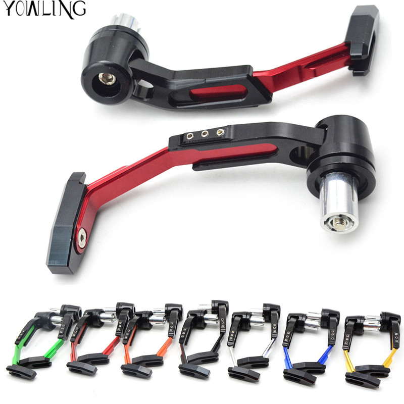 7/8 22mm Motorbike proguard system brake clutch levers protect for Honda CBR 600 F2 F3 yamaha Tmax 500 Tmax 530 KTM RC 125 200 mf2300 f2