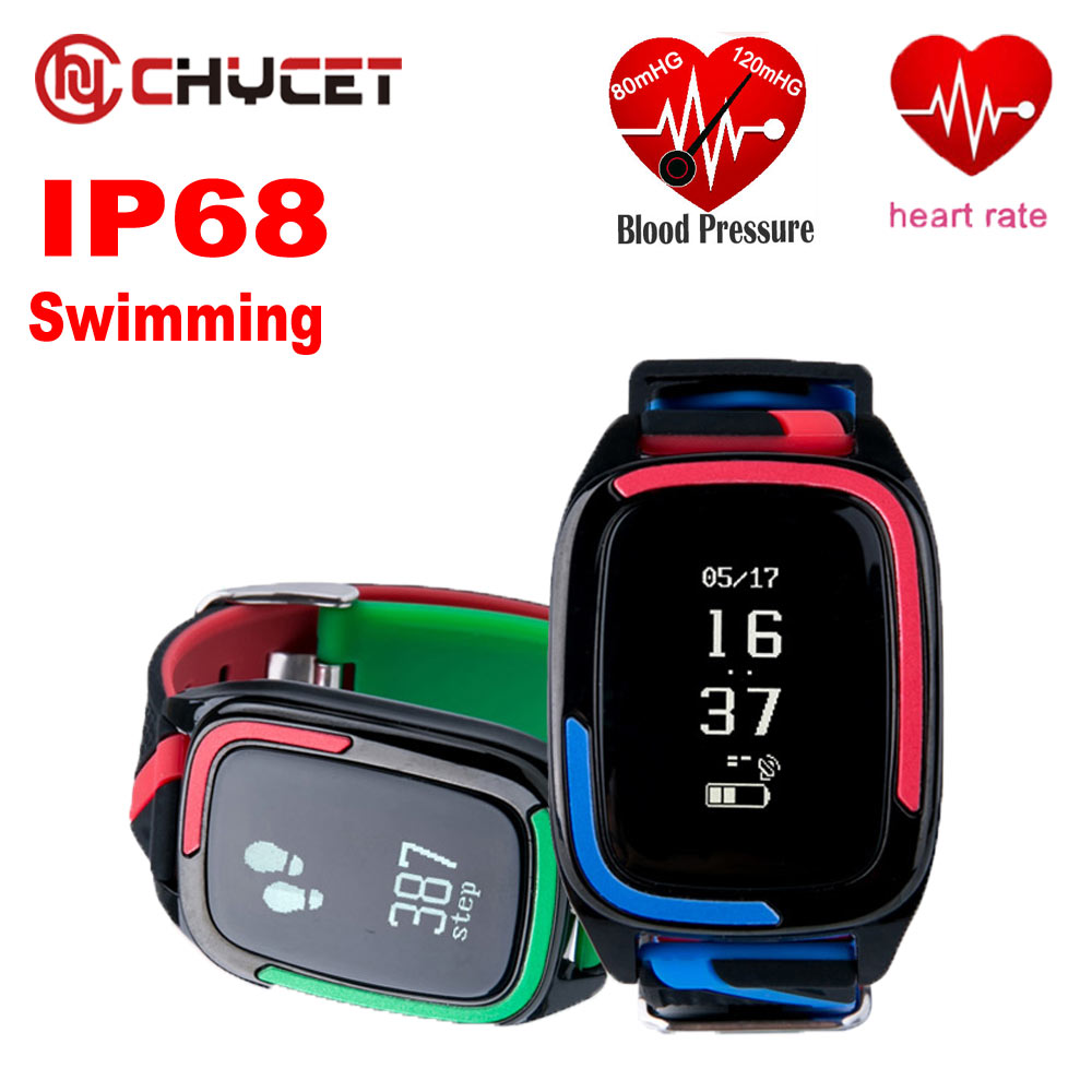 Waterproof IP68 Smart band DB05 Heart rate monitor Blood Pressure fitness tracker bracelet Sport watch for