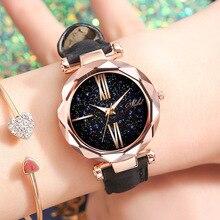Foreigntrade часы женские кварцевые часы с ремешком цвета розового золота