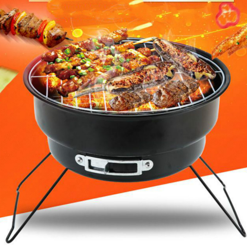 Folding Portable Mini Barbecue Charcoal