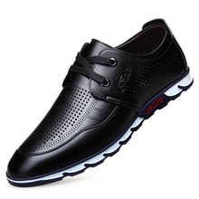 цена на Handmade Brand Men's Shoes Casual Fashion Footwear Rubber Soles Men Flats Walking Shoes Designer Mens Black Sneakers DA055