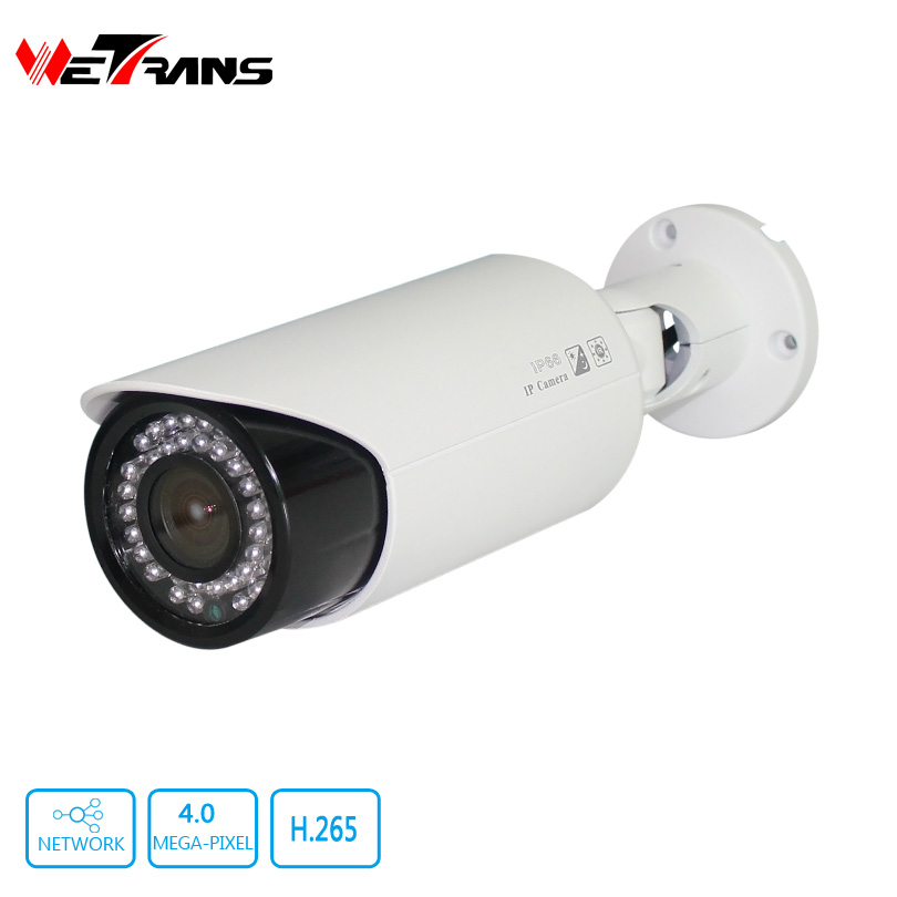CCTV Camera Outdoor Varifocal 2.8-12mm Lens 30M Night Vision 42*F5 LED Onvif 2.4 Full HD 4 Megapixel Network IP Camera POE