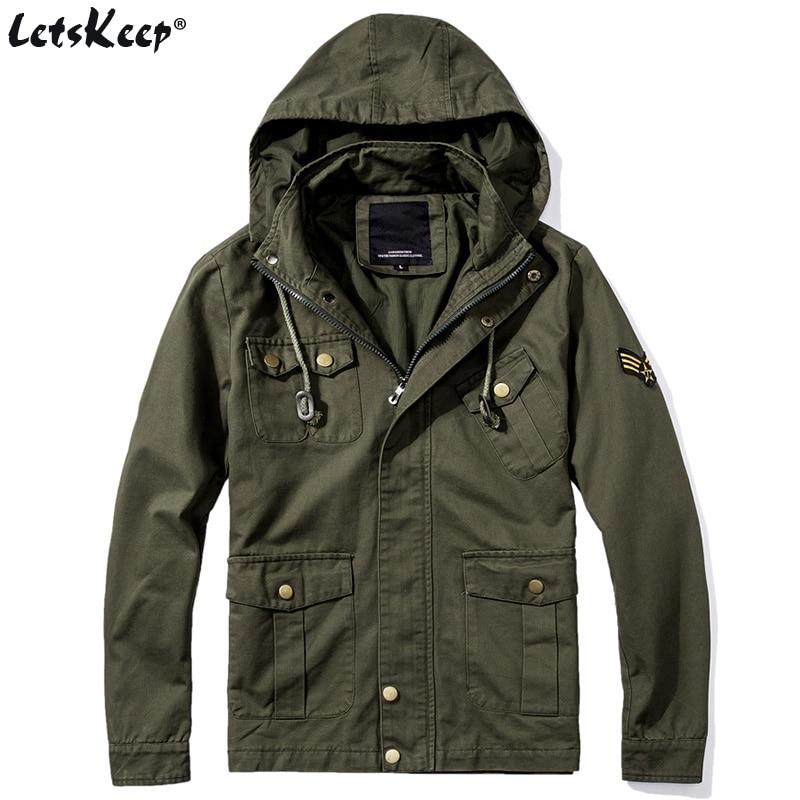 LetsKeep New Jersey xhaketë bombe ushtarake burra taktike ushtarake - Veshje për meshkuj - Foto 1