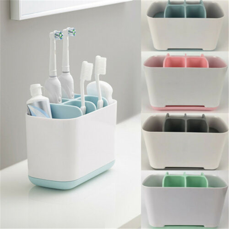 Toothbrush Holder Toothpaste Holder Electric Color Convenient Storage Box Removable