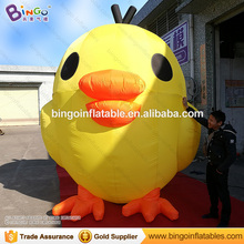 Free shipping 4M / 13ft inflatable outdoor chick inflatable amusement chicken with blower for event decoration advertising toy
