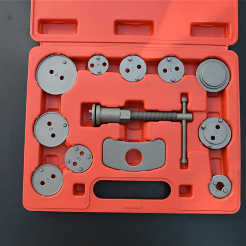 12Pcs/Set Universal Car Disc Brake Caliper Wind Back Piston Compressor Tool Kit For Most Automobiles Garage Repair Hand Tools 38mm cylinder barrel piston kit