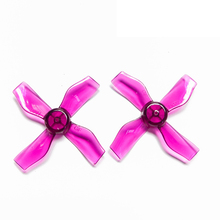4Pairs GEMFAN 1220 1.2x2x4 31mm 1mm Hole 4-blade Propeller PC CW CCW Props for 0703-1103 RC Drone FPV Racing Brushless Motor gemfan 2035bn 4 blade propeller purple
