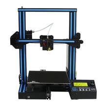Geeetech A10 с открытым исходным кодом быстрый монтаж 3D-принтеры 220*220*260 высокое PFrinting Accur хорошая адгезия платформы LCD2004 Дисплей