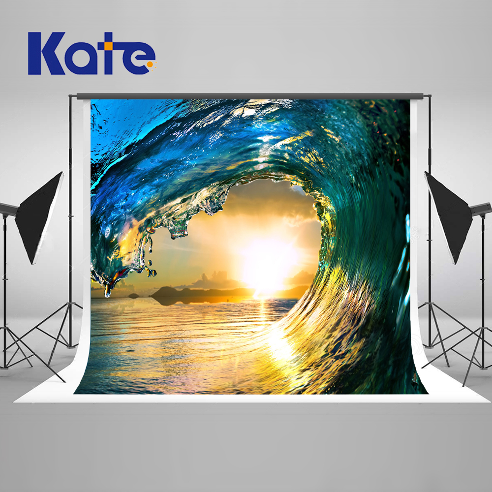 Kate Art Water Column Backgrounds For Photo Studio Sunlight Abstract Background Photography Stage Photographic Background kate photo background scenery