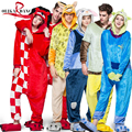 Hot New Unisex Adultos Pijamas Kigurumi Cosplay Animal Onesie ropa de Dormir