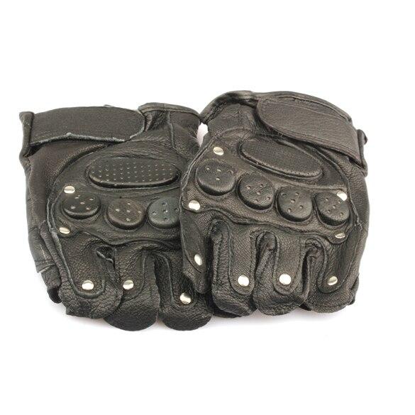 1Pair Men s Military Tactical font b Gloves b font Outdoor Army Black Half Finger font