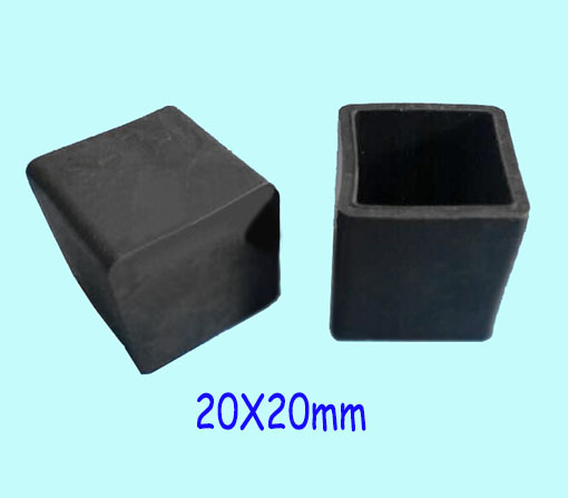 20*20mm 3/4 inch table feet cover Cap,Folding chair sunshade pad