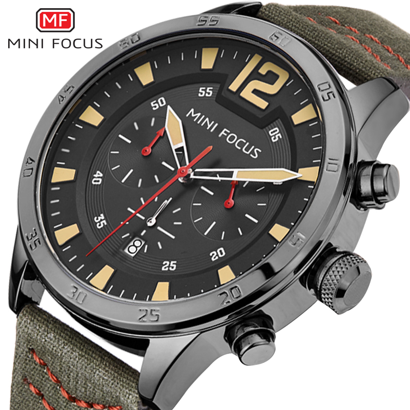 New Fashion Top Luxury Brand MINIFOCUS Sports Watches Men Quartz Ultra Thin dial Clock Sports Military Watch Relogio masculino fashion watch top brand oktime luxury watches men stainless steel strap quartz watch ultra thin dial clock man relogio masculino
