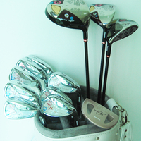 Cooyute New lady Compelete set of clubs Maruman FL Golf clubs Driver+fairway wood+irons+Putter Graphite Golf shaft free shipping