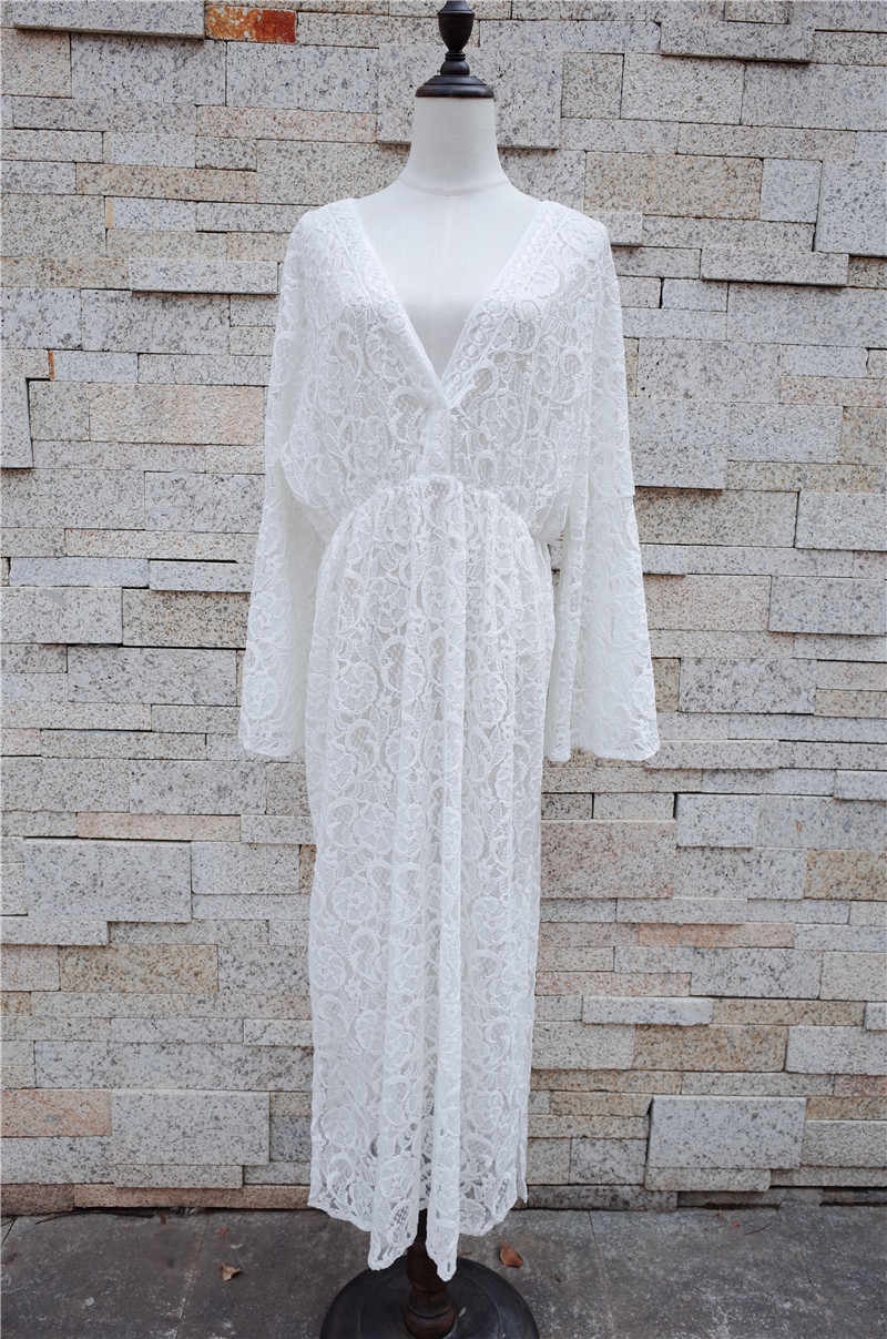 99f5cc09af5e6 ... Lace Beach Cover up Sarong Beach Wrap Pareos Para Playa 2019 Swimwear Cover  up Women Robe