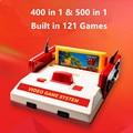 2017 Nuevo Subor D99 Video consola de juego clásico familia TV video consolas de juegos jugador con 400 IN1 + 500 IN1 juegos de tarjetas para elegir