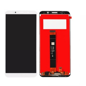 Image 2 - 5.45 display display lcd para huawei y5 lite 2018 DRA LX5 montagem do painel de toque da tela lcd peças telefone